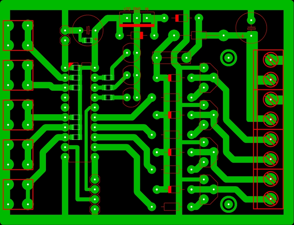 Схема автономного контроллера