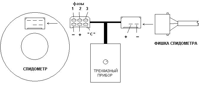Схема подмотки 3-х фазных