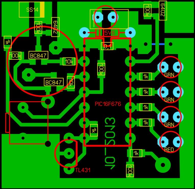 Контроллер зарядки литиевого