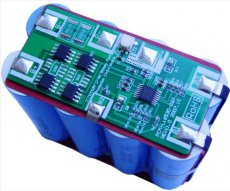 Контроллер зарядки литиевого аккумулятора с индикацией и кнопкой включения и отключения нагрузки