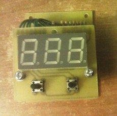 Показометр, измеритель периода скважности шим регуляторов для перистальтического насоса