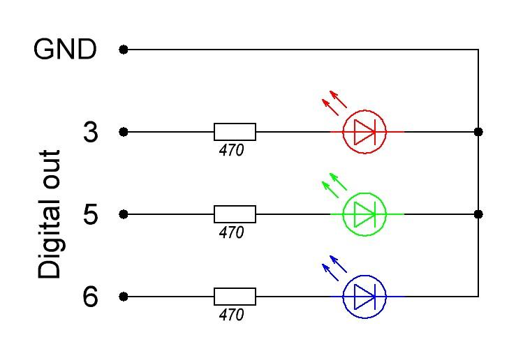 RGB ModLamp - лампа настроения