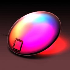 Полноцветная RGB лампа настроения на attiny2313 своими руками